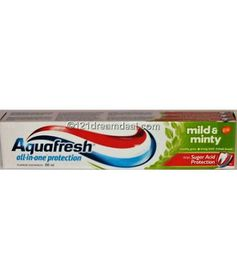 AquaFresh Mild and Minty Toothpaste 100ml
