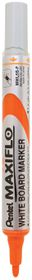 Pentel Maxiflo 4.0mm Bullet Tip Whiteboard Marker - Orange