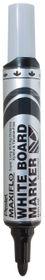 Pentel Maxiflo 6.0mm Bullet Tip Whiteboard Marker - Black