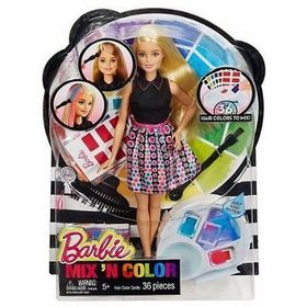 Barbie Mix And Color Doll