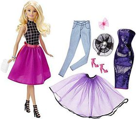 Barbie Fashion Mix And Match Doll - Blonde