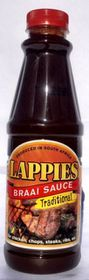 Lappies Braai Sauce - Traditional - 500ml