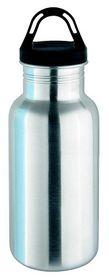 Isosteel - 500ml Sports Bottle - Silver