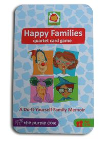 The Purple Cow Happy Families Card Game