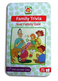 The Purple Cow Family Trivia Game
