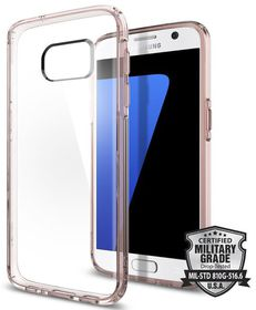 SPIGEN Ultra Hybrid Rose Case for Samsung Galaxy S7 - Clear