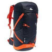 QUECHUA DECATHLON Forclaz 30 Air Hiking Backpack - Black & Red