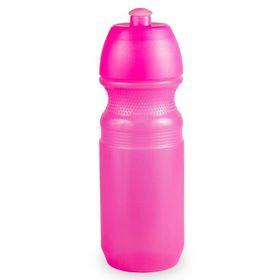 Lumoss - Sportec 9 Cyclist Bottle - Semi Transparent Neon Pink