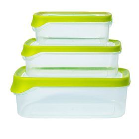 Lumo - Container Set with TPE Seal - 3 Piece