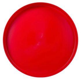 Lumoss - Plastic Round Tray 35 cm - Red