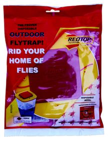 Redtop - Trap Disposable Fly Catcher