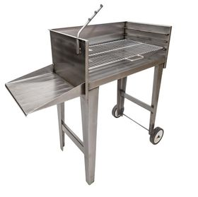 Megamaster - FSBS001 - 800 Mini Patio Braai SS