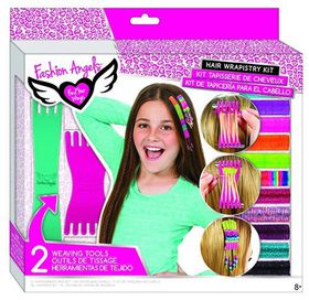 Fashion Angels Cosmetics & Hair Weaving Kit