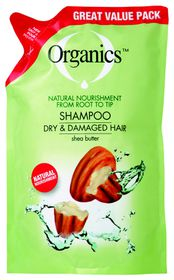 Organics Dry & Damaged Shampoo Refill - 900ml