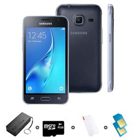 Samsung GALAXY J1 Mini DS 8GB 3G - Black - Bundle incl. R2000 Airtime + 1.2GB Starter Pack + Accessories