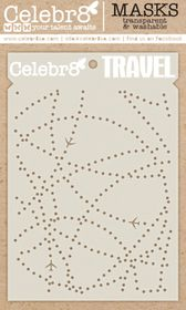 Celebr8 Going Places Mask - Travel
