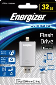 Energizer 32GB USB/Lightning Flash Drive