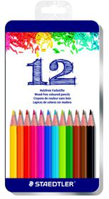 Staedtler 12 Colour Pencils in Tin