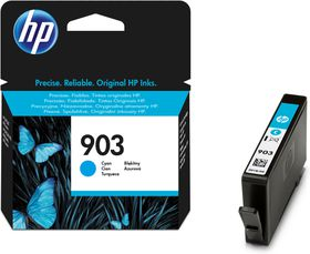 HP 903 Cyan Ink Cartridge-315 Pages