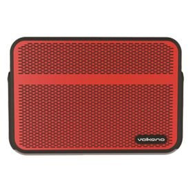 Volkano Edge Bluetooth Speakers - Red
