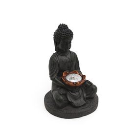 Fine Living - Solar Buddha Light