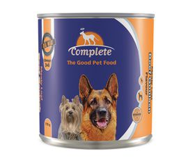 Complete - Tin Dog Food Beef Goulash - 385g