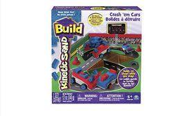 Kinetic Sand Build Crash 'Em Cars