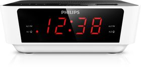 Philips AJ3115 Clock Radio - Black