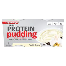 Supashape High Protein Pudding - Vanilla Cream