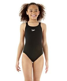 Girls Speedo Endurance Medalist Swimsuit 1 Piece