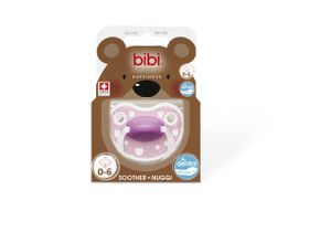 Bibi - 0-6m Silicone Soother - Lovely Dots