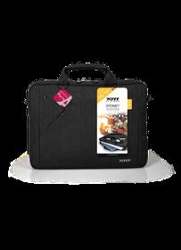 Port Sydney Top loading Laptop Bag - 15.6 Inch - Black