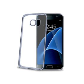 Celly Laser Cover for Samsung Galaxy S7 - Dark Silver