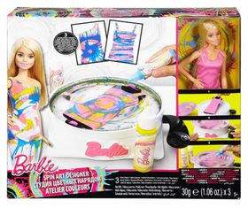 Barbie Spin Art And Doll