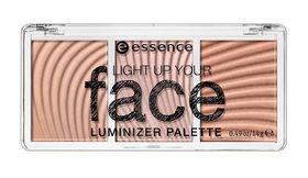 Essence Light Up Your Face Luminizer Palette - 10