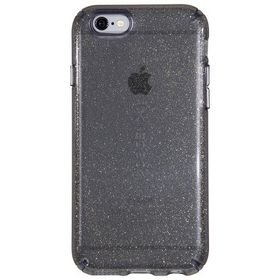 Speck Candyshell Clear with Glitter for iPhone 6/6S - Onyx/Gold Glitter