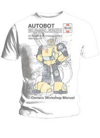 Haynes Manual Transformers Bumblebee T-Shirt (xlarge)