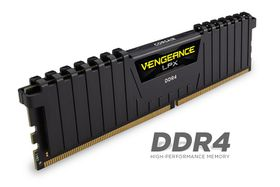 Corsair Vengeance LPX 32GB DDR4 DRAM 2400MHz C14 Memory Kit - Black - 2 x 16GB