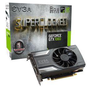 EVGA GeForce GTX 1060 Graphics Card - 6GB