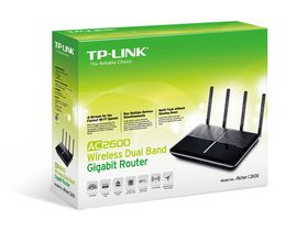 TPLINK AC2600 Dual Band Wireless Gigabit Router