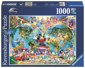 Ravensburger Disney's World Map Puzzle