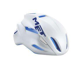 MET Manta Helmet - White / Blue- Size: Large