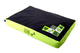 Rogz - Medium Flat Pods Dog Bed - Lime Juice Design