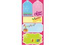 Jolly Brights Stick-On Labels - Pack of 20