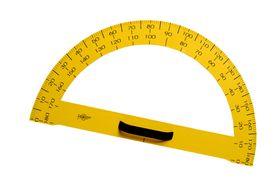 Draughtsman Black Board Protractor 180degree 50cm