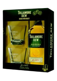 Tullamore Dew - Gift Set with 2 Glasses
