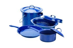 Oztrail - Enamel Camp Site Cook set