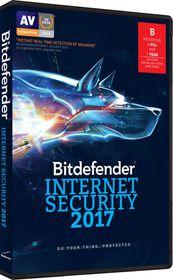 Bitdefender 2017 Internet Security 4 user (DVD Case)