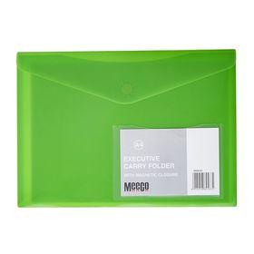 Meeco A4 Executive Carry Folder - Green