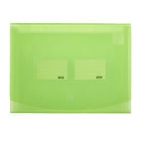 Meeco 12 Division Expanding File - Translucent Green